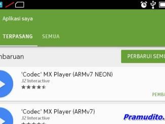 Update aplikasi pada Play Store