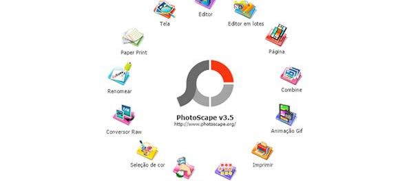 Menu Pada Photoscape