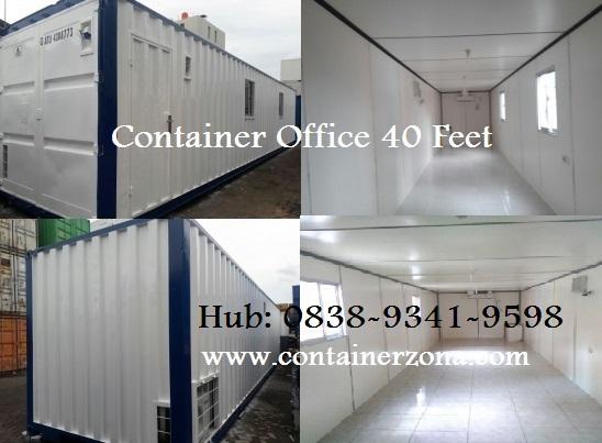 Sewa Container Office Jakarta 3