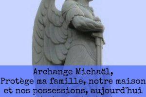 demande de protection a saint michel