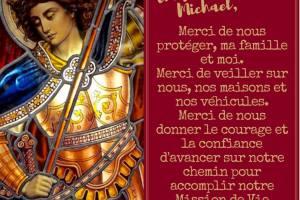priere pour la protection a l archange michael alias saint michel