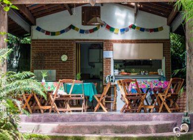 Refeitório do Prana Prana
