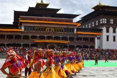 Taschicho Dzong Thimpu