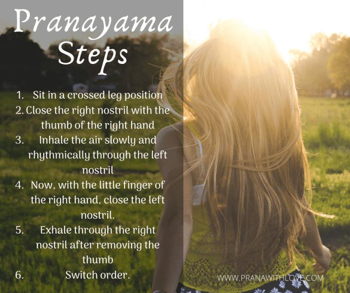 Pranayama steps: Remedies for cough