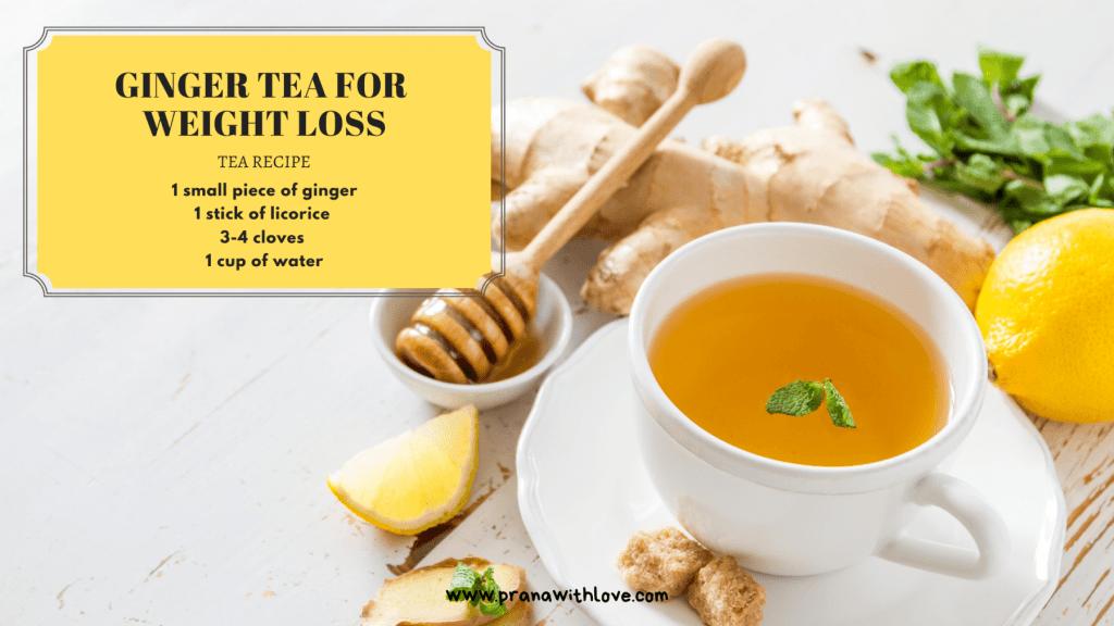 Tea to boost metabolism