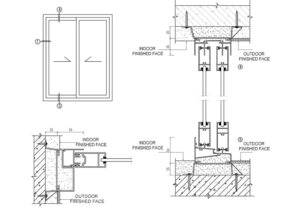 Drawing Of A Commercial Air Condition System