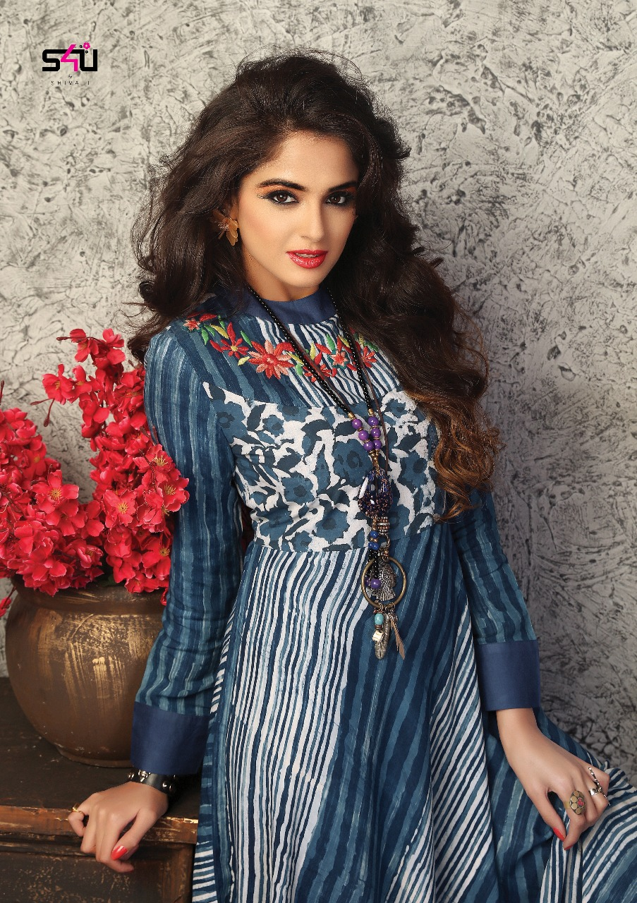a7d9b22dbc S4u Shivali weekend passions catalog rayon Kurtis Wholesale Supplier india.  DOWNLOAD ZIP