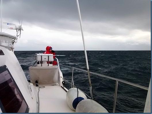 19 navegando por Bahia Nassau