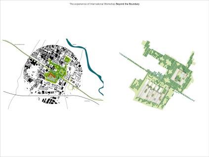Beyond the Boundary International Workshop (MDU architetti, Bodàr bottega d'architettura, 2017). Project leader Alfonso Femia (Atelier Alfonso Femia) with Carlo Occhipinti, Federica Cerella, Francesca Macchioni, Francesco Piani.