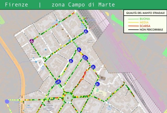kimap mappatura campo di marte