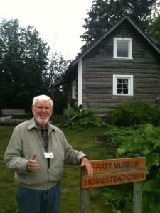 Tom Kane, Homestead Cabin Docent Volunteer