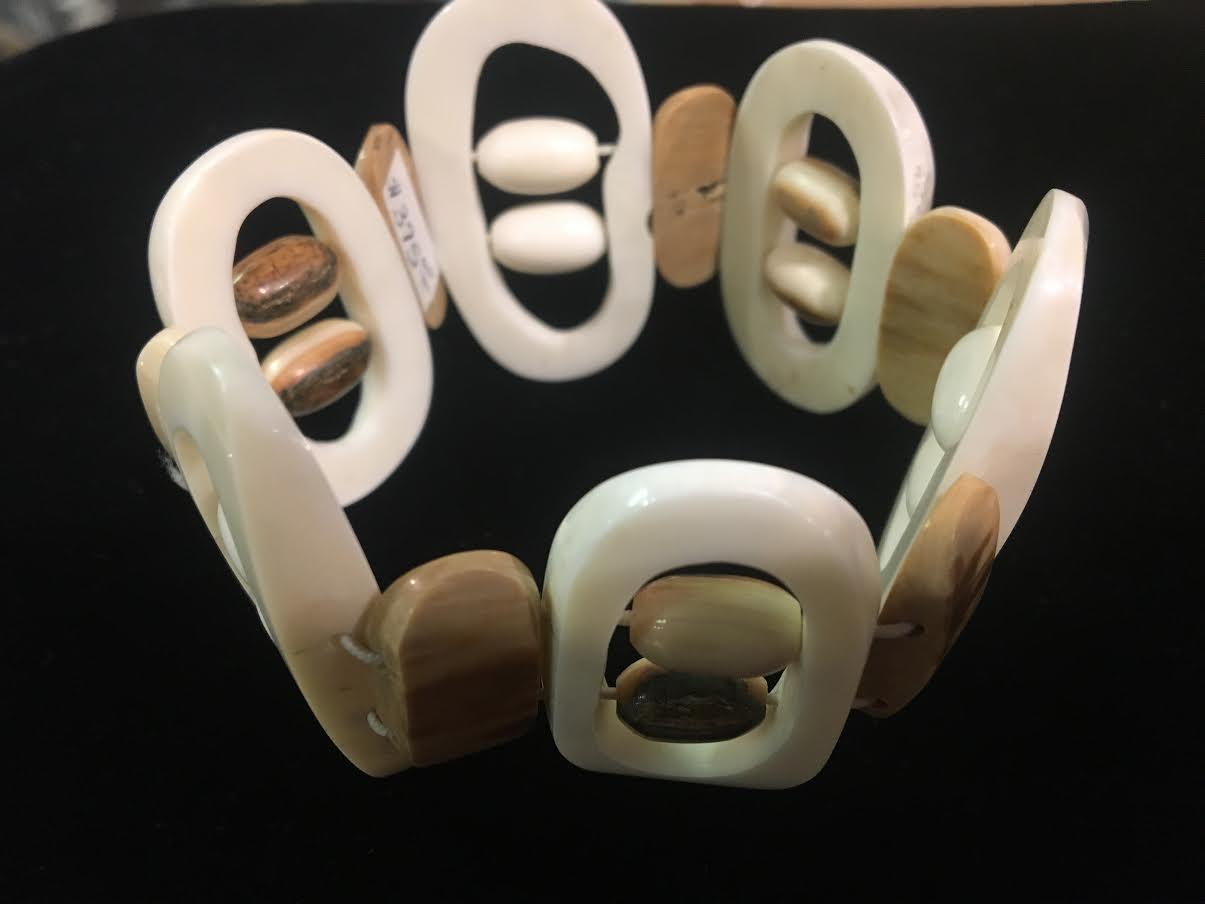 Ivory Bracelet by J. Siungowok
