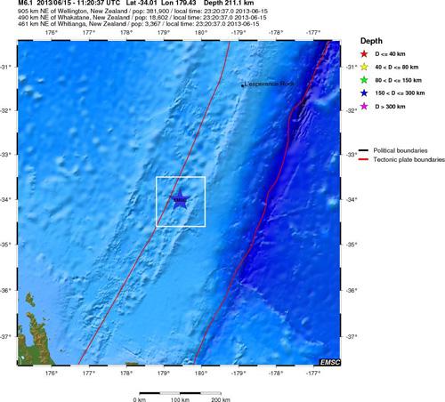 karmadecinseln-erdbeben