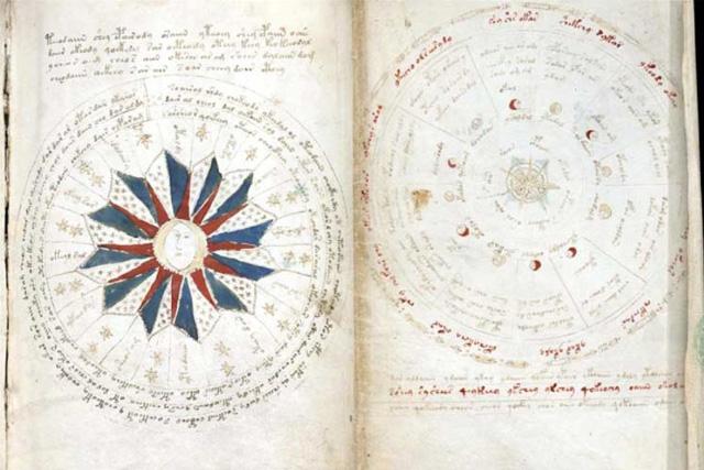 Voynich-Manuskript-astronomie