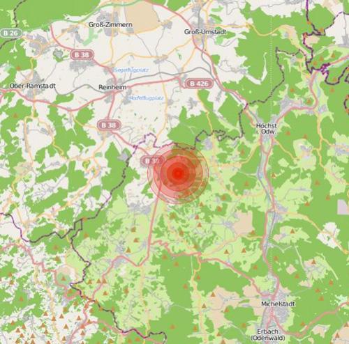 Erdbeben Hessen Heute