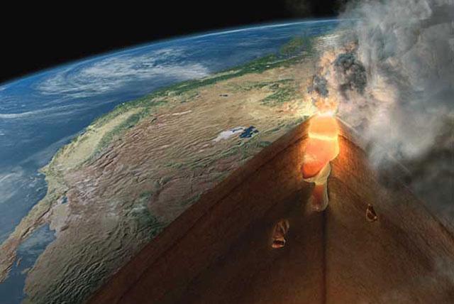 Yellowstone-Vulkan: Ri...