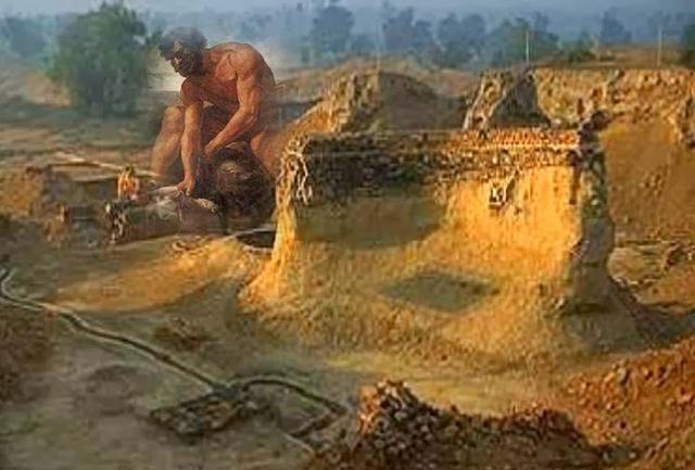 Giganten in Afrika: Ein 40.000 Jahre alter Riesen-Femur aus Namibia ...