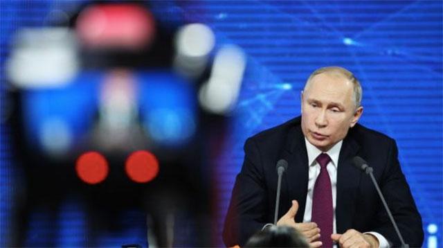Putins Fazit 2018 Russlands Präsident Warnt Vor Der Gefahr Eines