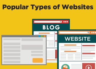 What are the Different Types of Websites Content wise