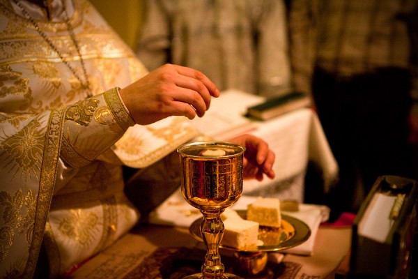 Image result for holy communion orthodox church
