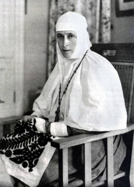 Фотография святой преподобномученицы Елизаветы Федоровны