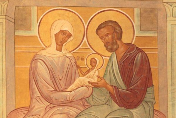 Церковь чтит память Святых праведных Иоакима и Анну