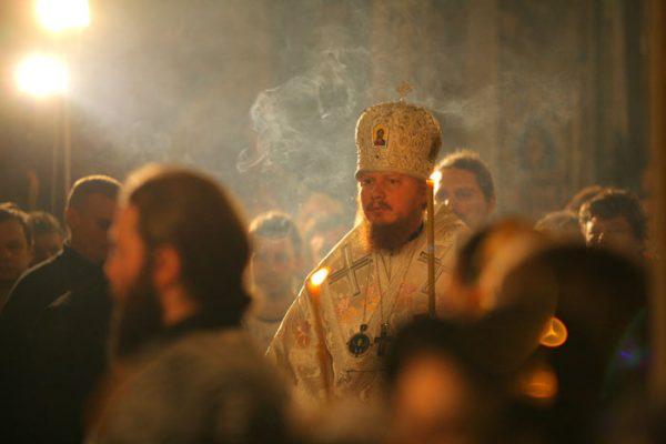 خدمات کریسمس در صومعه یونا