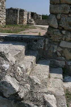 Развалины Влахернского храма