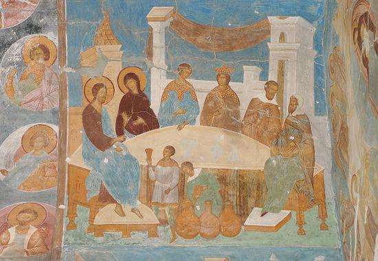 Дионисий. Брак в Кане Галилейской. Источник: dionisy.com
