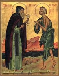 Прпп. Зосима и Мария Египетская