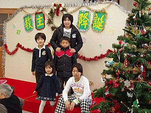 Children's Christmas show in Hakodate.
