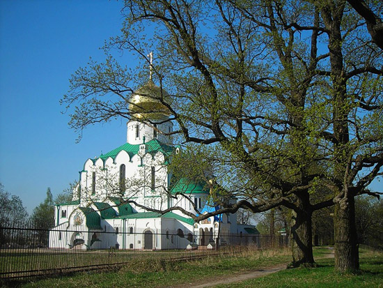 The Church of the Feodorov Icon of the Mother of God in Tsarskoye Selo. Photo: uolliss.ya.ru