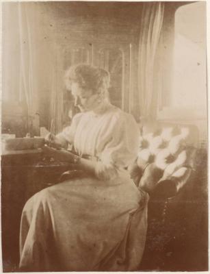 За письмом. 1909 год