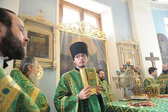 Hierodeacon Nikolai (Ono). Photo: mospat.ru