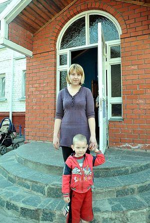 Анна с сыном