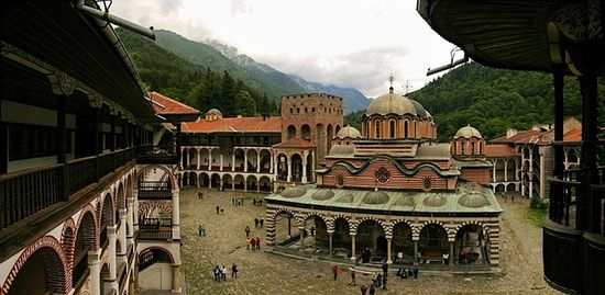 The Monastery of St. John of Rila, Bulgaria