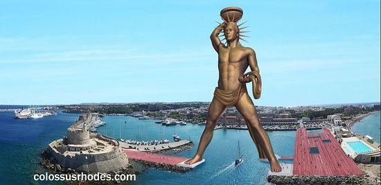 У Грчкој намеравају да обнове статуту Колоса са Родоса: «Желимо да оживимо оно што је он симболизовао»