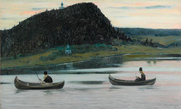 Mikhail Nesterov. Silence. 1903