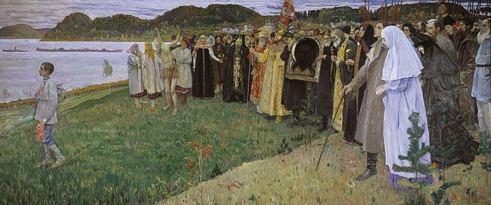 Mikhail Nesterov. In Rus. The Soul of the People.