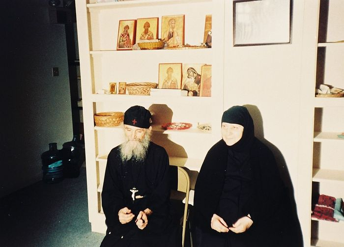 Elder Ephraim and Gerondissa Macrina.