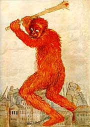 Antibolschewistisches Poster aus der Zeit des russischen Bürgerkriegs