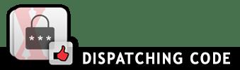Dispatching code