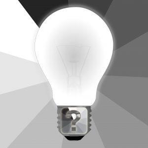 Frage Glühlampe Idee 300x300 - The 7 pillars of mindfulness - #4 Trust