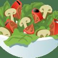 Salat Gemüse - Home Office Fact Sheet #5: Ernährung Basics