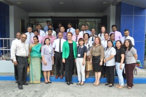Sri Lankan educators conduct SBM and SBTDSI benchmarking at DepEd R-4A RO