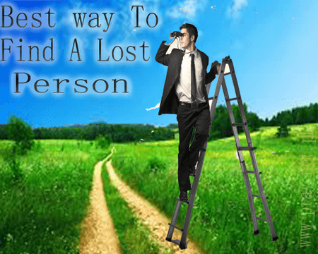 Find a missing person