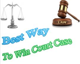 powerful dua to win court case