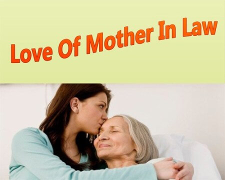 for good relationship with mother in law