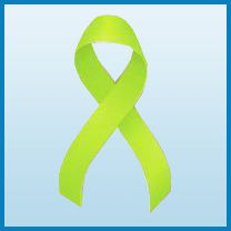 Non-Hodgkin lymphoma Cancer ribbon color
