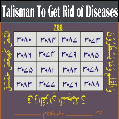 Talisman for Diseases